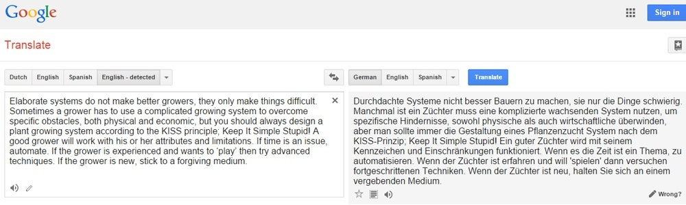 Web translation - Why machines are lost for words